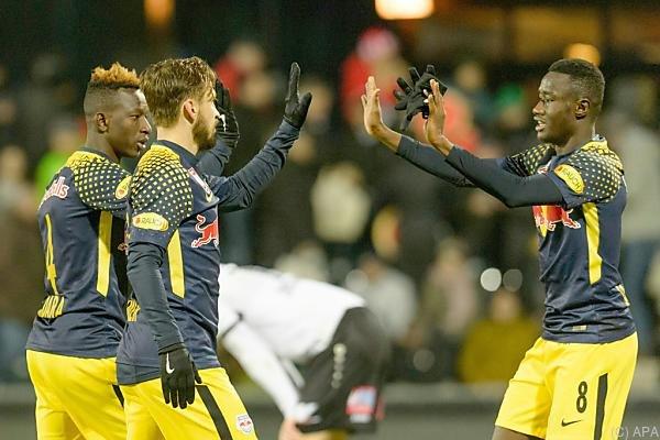 Salzburg holte mit dem Minimalergebnis drei Punkte