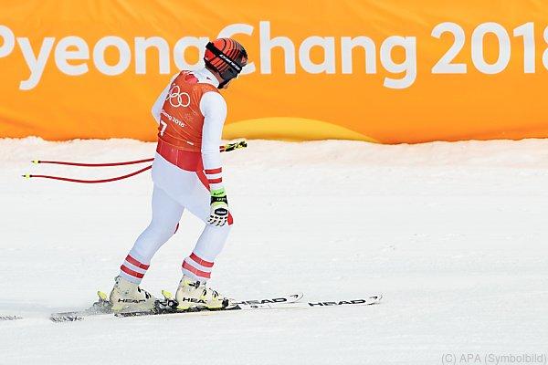 Nichts ging im Jeongseon Alpine Centre
