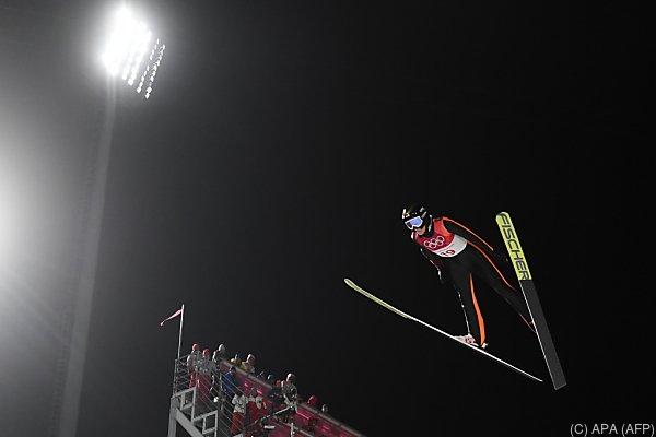Iraschko-Stolz schaffte es nicht in die Medaillenränge