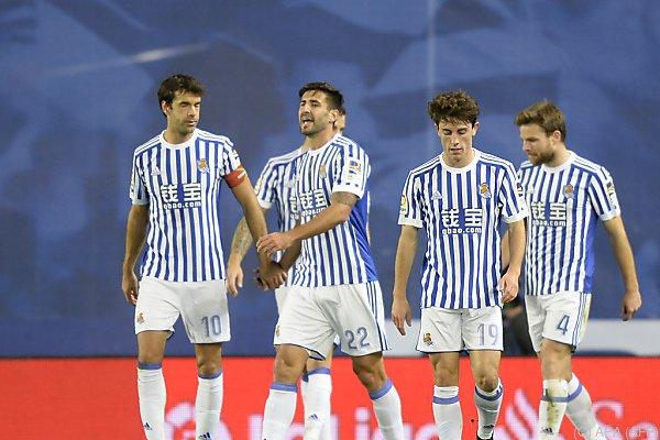 Real Sociedad hatte in der Liga zuletzt keinen Lauf