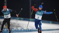 Foto-Finish: Fourcade gewann Biathlon-Bewerb