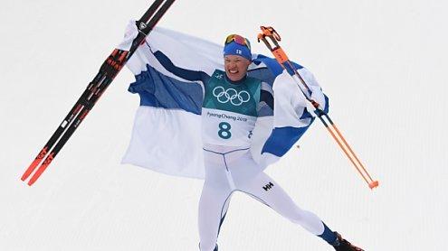 Olympia: Niskanen holte erstes 50-km-Gold für Finnland seit 1960