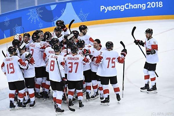 Die Kanadier gewannen gegen Tschechien mit 6:4