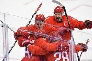 Dramatisches Eishockey-Finale: Gold an Russen