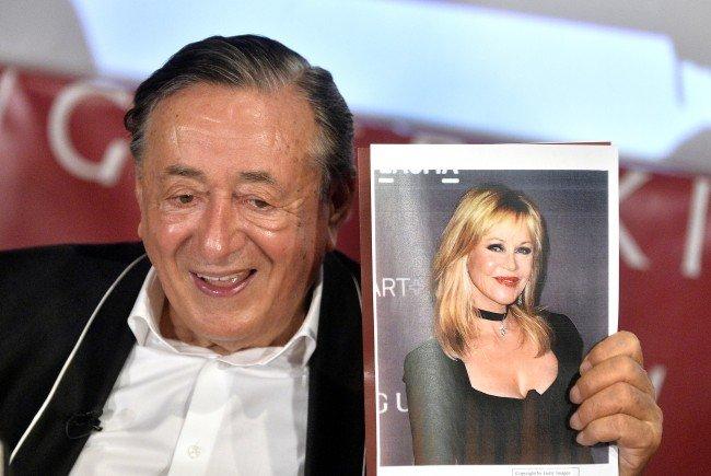 Lugners Opernball-Gast Melanie Griffith zu Gast in der Lugner City
