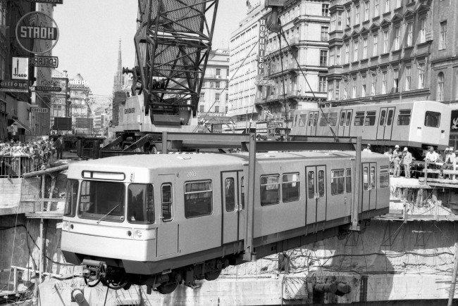 Am 25. Februar 1978 hat die Linie U1 als erste ihren Betrieb aufgenommen.