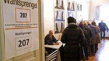 Reger Andrang beim Vorwahltag in Kärnten