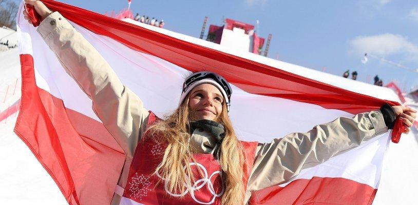 Olympia 2018: Gold für Anna Gasserim Big-Air-Bewerb der Snowboarder