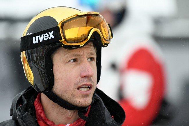 Olympia-Abfahrt-Mitfavorit Reichelt hoffte auf ein weiteres Training.