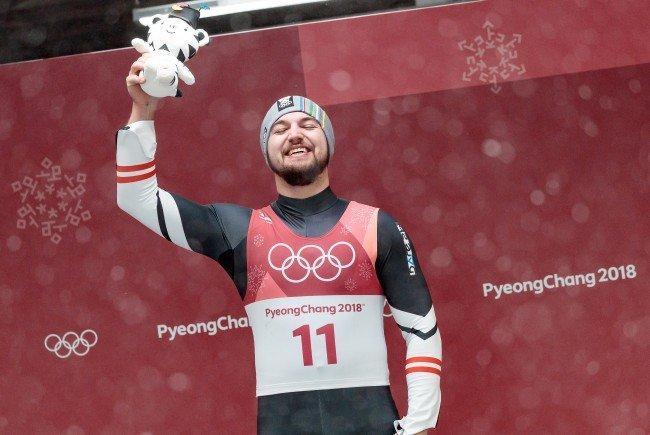 Sensations-Olympiasieger im Einer-Rodeln David Gleirscher