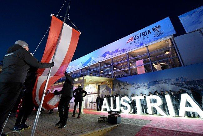 Das Olympiahaus der Österreicher in Pyeongchang.