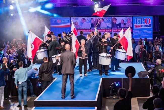 Die FPÖ-Tirol startet ins Wahlkampffinale.
