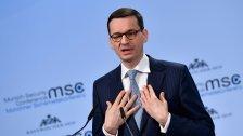 Polens Premier verteidigt Holocaust-Gesetz