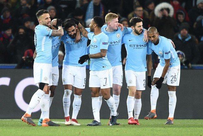Das Star-Ensemble von Manchester City kann bereits für das Viertelfinale planen.