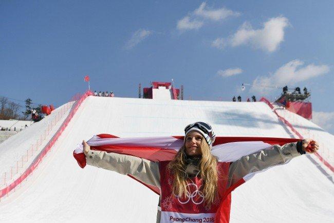 Gold für Snowboarderin Anna Gasser bei der Olympiade 2018 in Südkorea