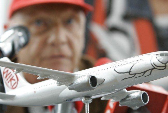 Niki Lauda setzt bei seiner Fluggesellschaft wieder auf Leiharbeiter.