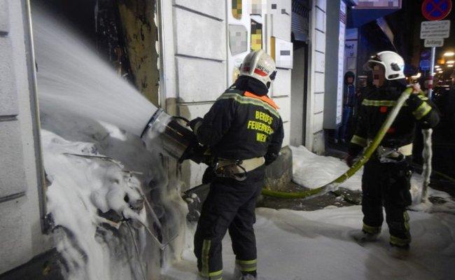 Bei dem Brand wurde das Wohnhaus über dem Lokal stark verraucht.
