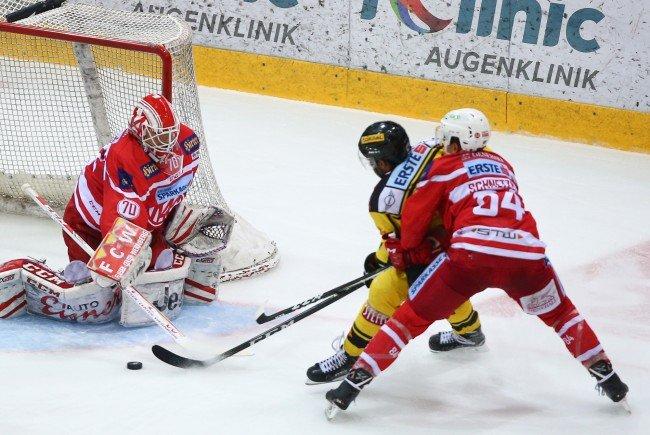Die Vienna Capitals sorgten für die 7. Niederlage des KAC.
