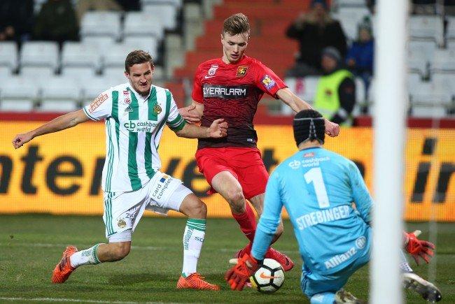 Rapid Wien verlor gegen die Admira mit 1:2.