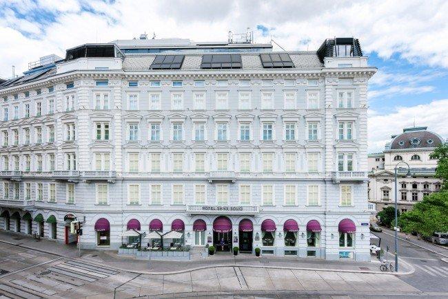 Das Hotel Sans Souci beim Wiener Museumsquartier ist der Innbegriff von Luxus.