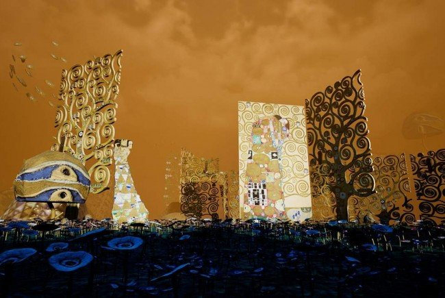 """""""Magic Garden"""": Klimts Werke virtuell im Wiener MAK erleben"""
