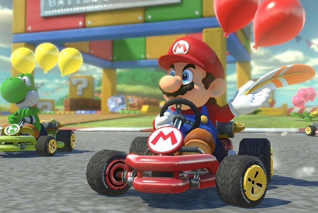 Anfang 2019 soll das Kult-Spiel 'Mario Kart' auch als Smartphone-App erscheinen.