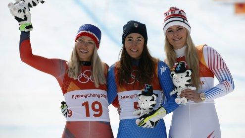 ÖSV-Damen bei Goggia-Triumph in der Abfahrt schwer geschlagen