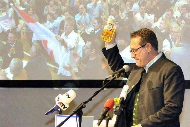 Vizekanzler Strache beim Politischen Aschermittwoch der FPÖ