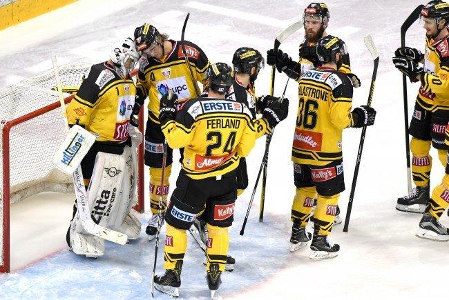 Die Capitals feierten einen Sieg in Salzburg