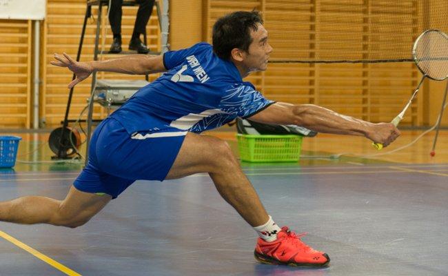 Der WBH Wien (im Bild: Jun Mai) tritt am Samstag in den Badminton-Disziplinen Einzel, Doppel und Mixed gegen Mödling an.