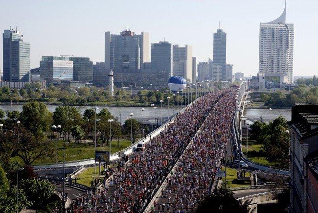 Ganz so voll wie beim Citymarathon ist Wien noch nicht: Die Einwohnerzahl stieg auf 1,89 Millionen
