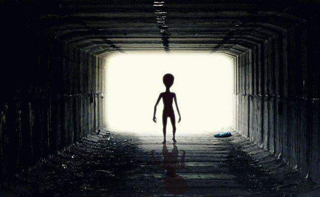Nachrichten von Außerirdischen sollten sofort gelöscht werden.