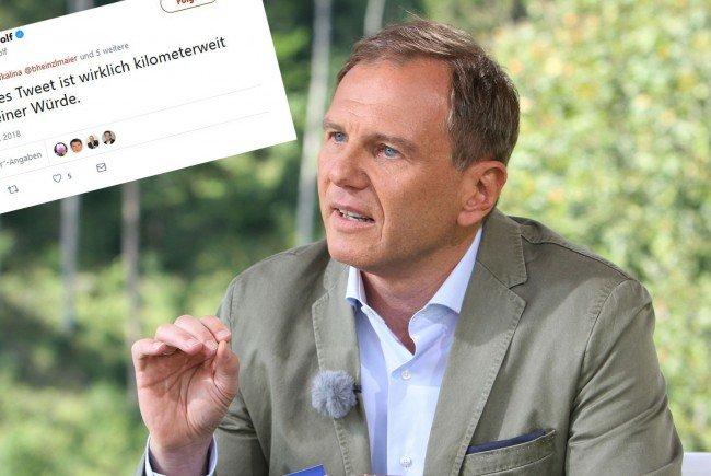Armin Wolf verteidigt die GIS-Gebühr.