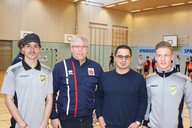 Austria Lustenau-Profis zu Besuch im Schulsport