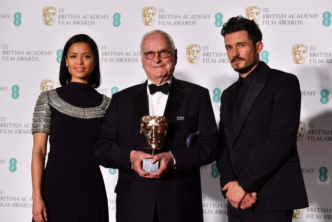 Als Moderatoren der BAFTAS standen Orlando Bloom (r) und Gugu Mbatha-Raw (l) zur Verfügung.