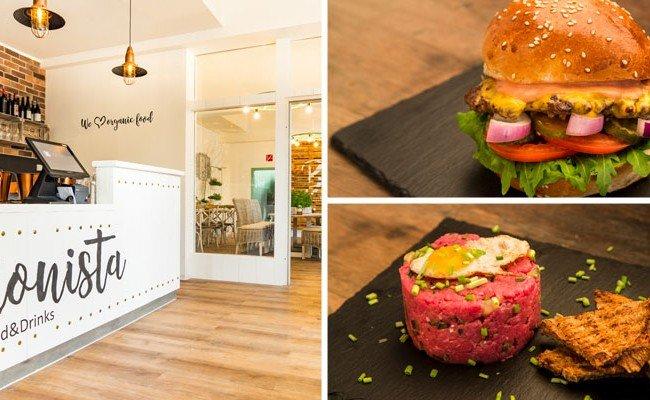 Im Bionista in Wien wird auch viel Wert auf die Gestaltung der Gerichte gelegt.