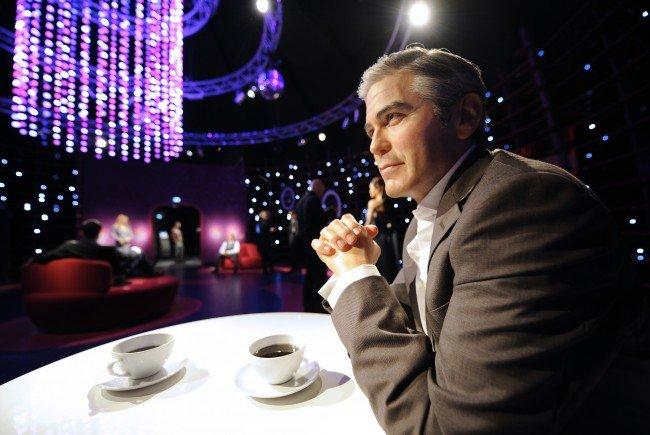 So nah wie im Madame Tussauds werden die meisten Wiener George Clooney wohl nie kommen