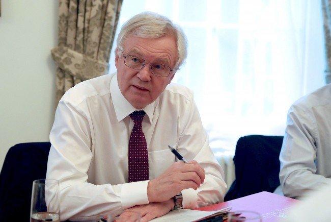 Der britische Minister David Davis hält am Dienstag in Wien seine Brexit-Rede.