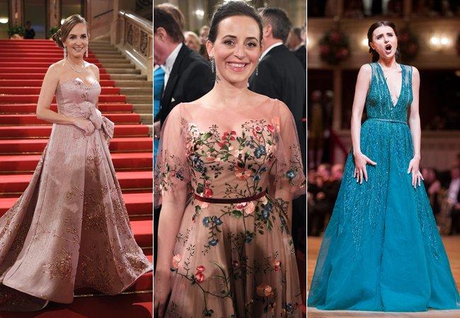 Das waren die schönsten Kleider am Wiener Opernball 2018.