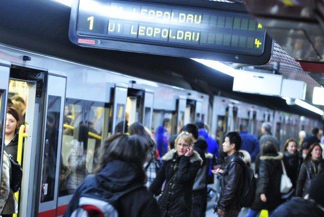 Über 960 Millionen Fahrgäste transportierten die Wiener Linien im Jahr 2017.