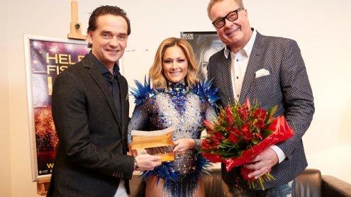 Schlager-Star Helene Fischer mit 'Wiener Stadthallen Flügel' geehrt