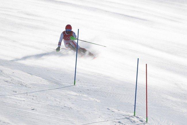 Marcel Hirscher hat seine erste Olympia-Goldmedaille gewonnen.
