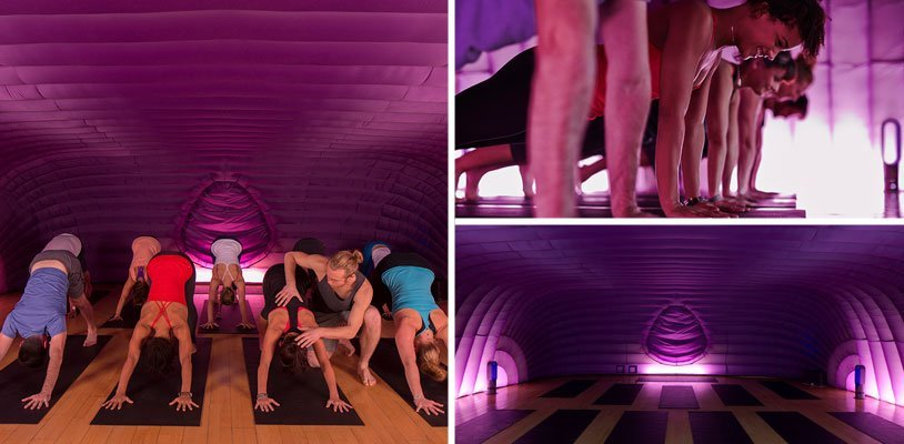 """Hot-Yoga im neuen """"Hotpod"""" Wien im Test: Bis der Schweiß auf die Yoga-Matte tropft"""
