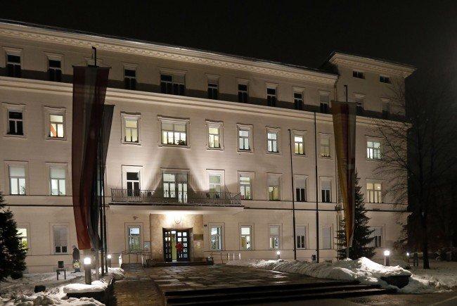 Im Regierungssitz in Klagenfurt ging es am Dienstag ruhig zur Sache.