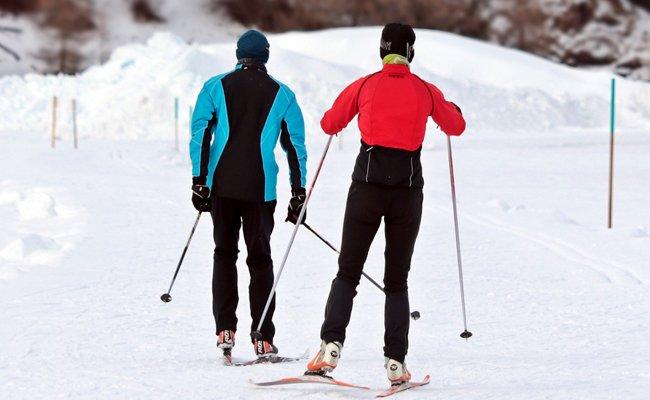 Bei guter Schneelage kann man in Wien auch Langlaufen.