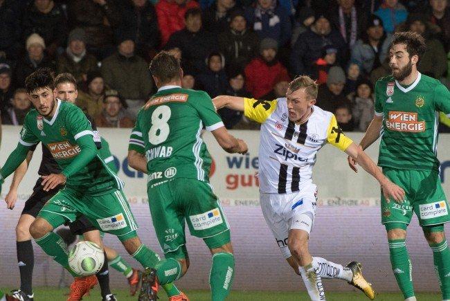 Hier sehen Sie das Match zwischen Rapid Wien und LASK Linz live im TV und im Live-Stream.