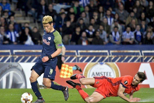 Hier wird das EL-Match zwischen Red Bull Salzburg und Real Sociedad im Live-Stream gezeigt.