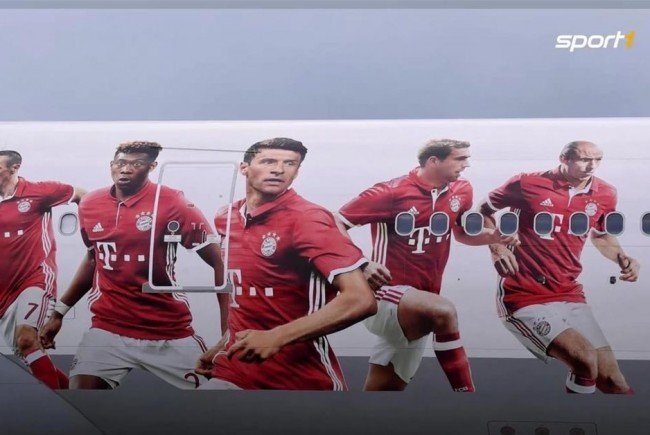 Der FC bayern München hat einen neuen Sponsor.
