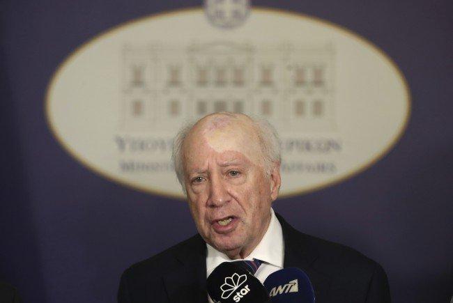Matthew Nimetz leitet die Gespräche zwischen Griechenland und Mazedonien.