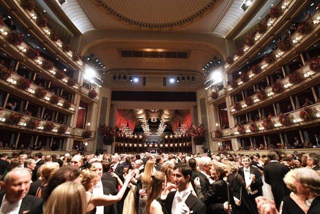 Live: Am Opernball 2018 in Wien heißt es wieder alles Walzer.
